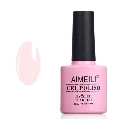 Pink nude gel nail polish