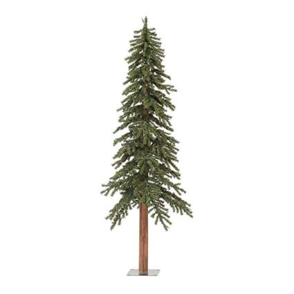 skinny alpine christmas tree