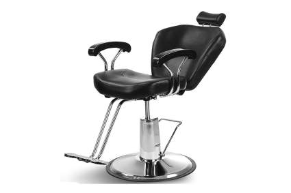 Black all purpose salon chair