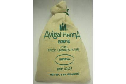 sack of henna