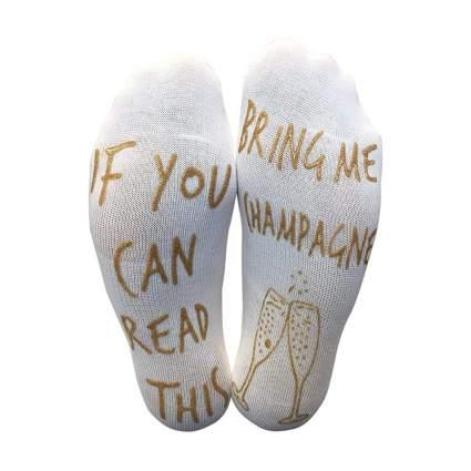 Champagne socks