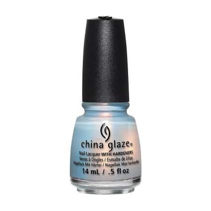 Opal white nail polish