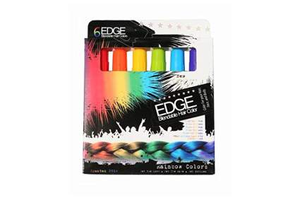 Edge hair markers
