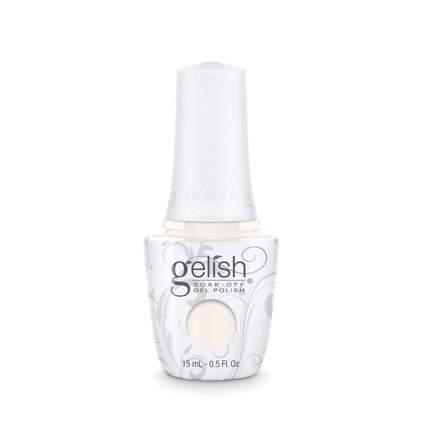 White gelish nail polish