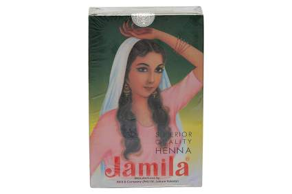 Box of Jamila henna powder