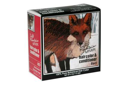 Henna box with fox on it