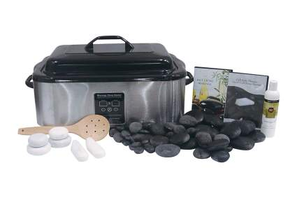 5 Best Hot Stone Massage Kits With Warmers 2021 Heavy Com