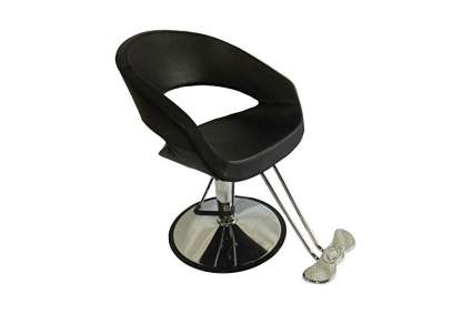 Oval styling chair
