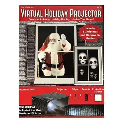 Holiday video projector kit