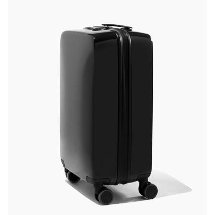 Matte black carryon luggage