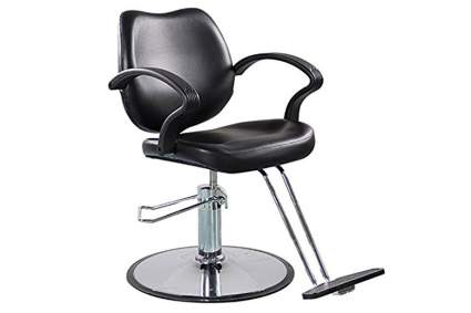 Black shengyu hair stylist chair