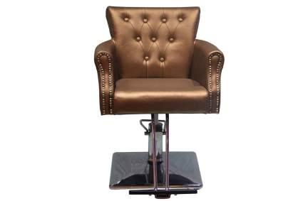 Bronze salon chair
