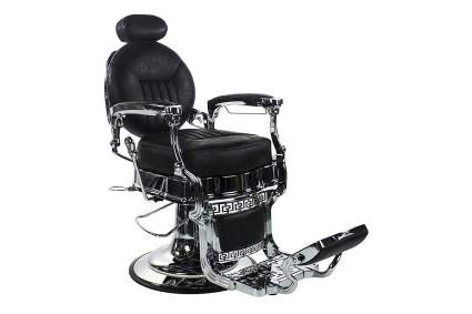 Black Kenzo barber chair