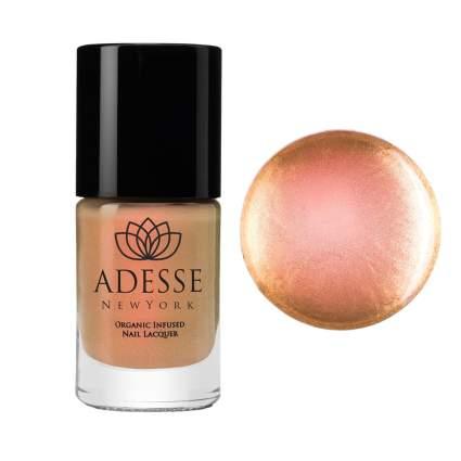 Rose gold chrome nail polish
