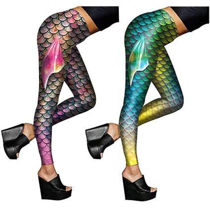 Fishscale leggings