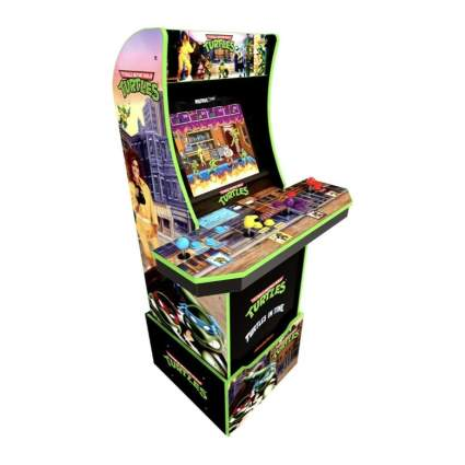 Arcade1up Teenage Mutant Ninja Turtles Arcade Machine w/ Riser