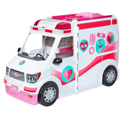 barbie clinic vehicle