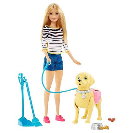 Barbie dog playset