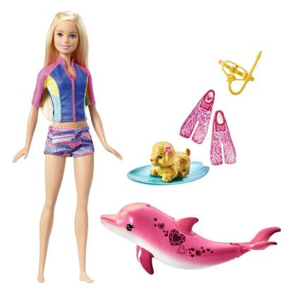 Barbie Dolphin Magic Snorkel Fun Friends