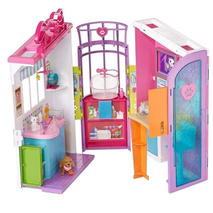 barbie pet care cente rplay set