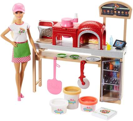 1. Barbie Pizza Chef Doll and Play Set