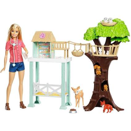 barbie rescuer doll playset