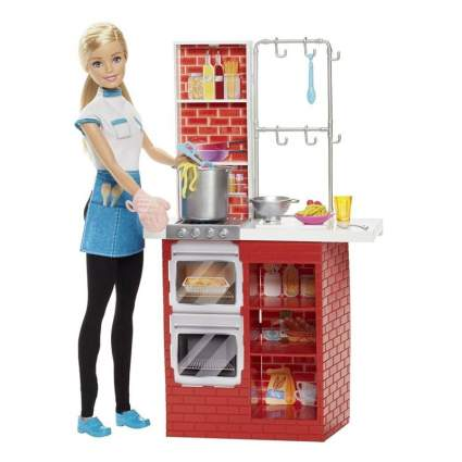 barbie spaghetti chef doll