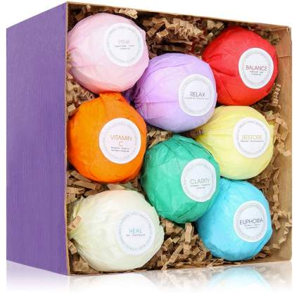 bath bombs gift for tween