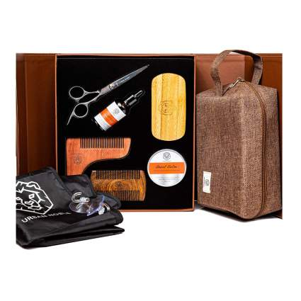 beard grooming dopp kit