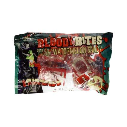 Bee International fangs and blood pack unique halloween candy