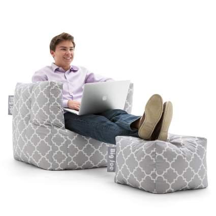 big joe cube ottoman chair
