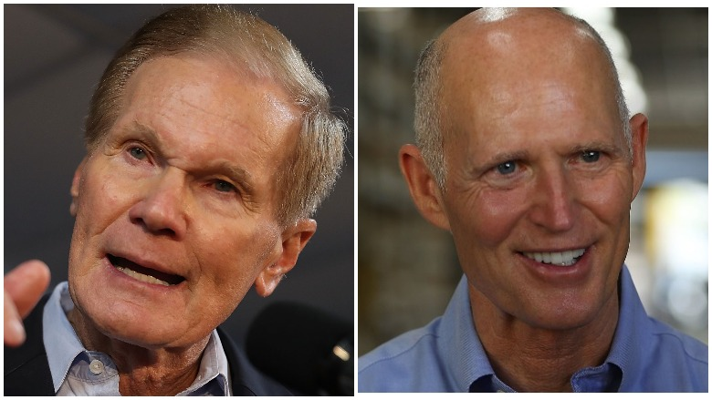 Bill Nelson Rick Scott