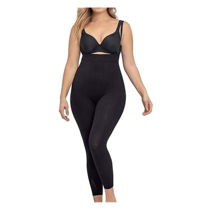 black shaping bodysuit