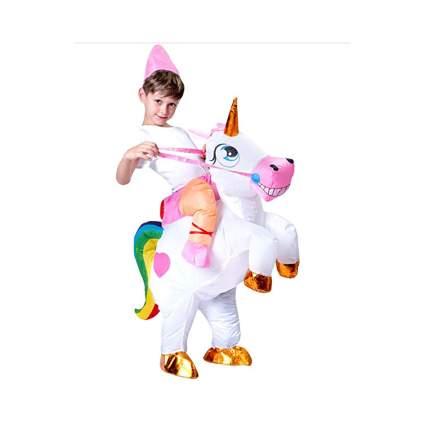 blow up unicorn costume