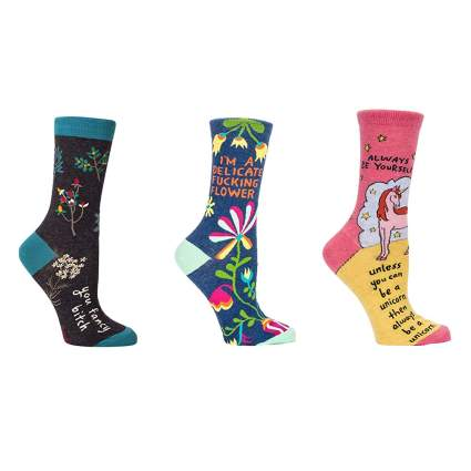 women's humorous socks