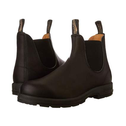 waterproof leather pull on boots