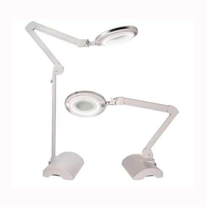 magnifying LED reading lamp