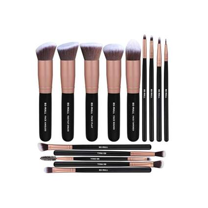 14 piece makeup brush set