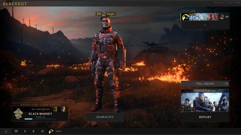 Call of Duty Blackout Unlock Seraph