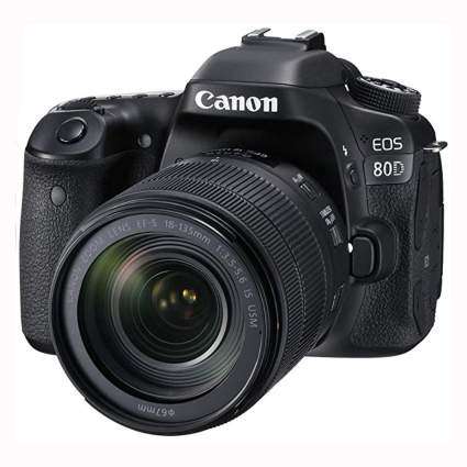 canon dslr camera and lens