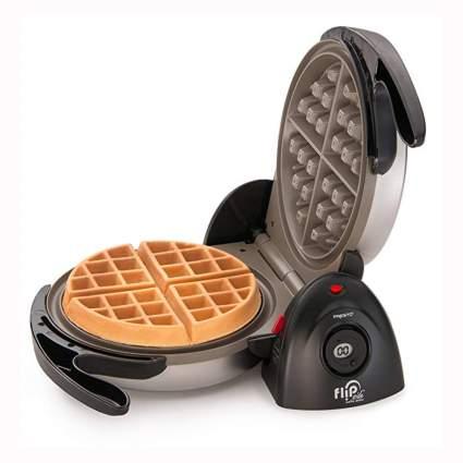 ceramic flip side belgian waffle maker