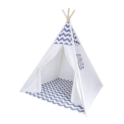 chevron indoor teepee tent
