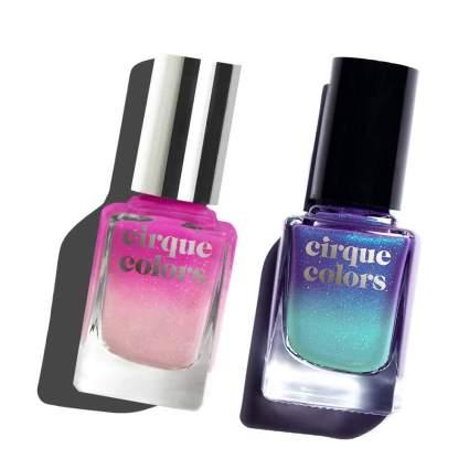 Cirque Colors thermal nail polish bottles
