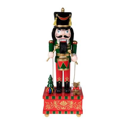 clever creations christmas music box