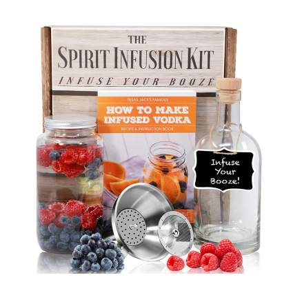 Kit for making infused vodkas