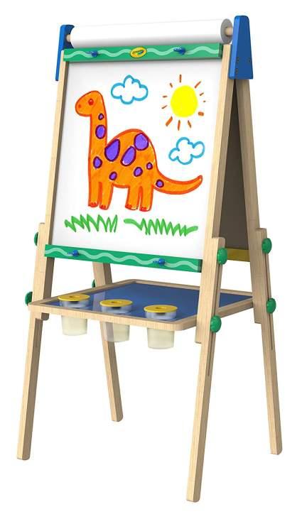 crayola kids easel