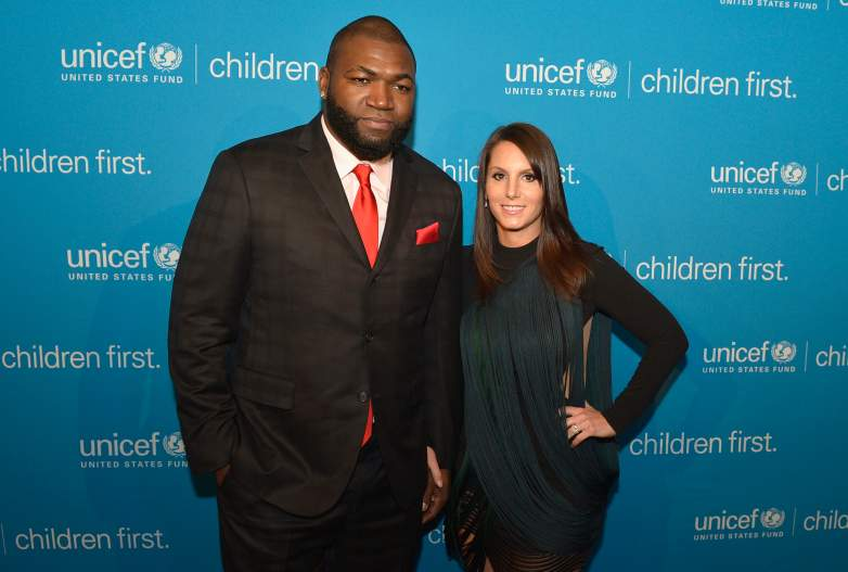 David Ortiz and his wife Tiffany