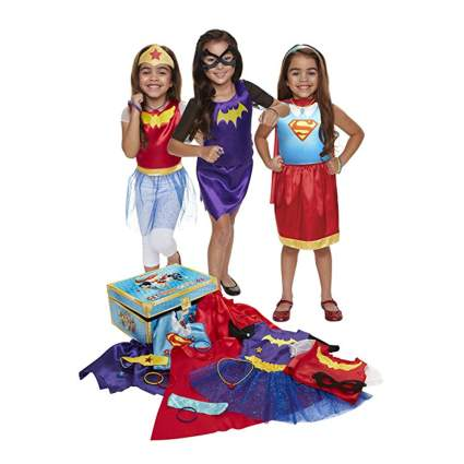 girls DC superheroes dress up kit