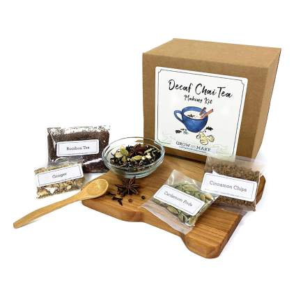 decaf chai tea kit