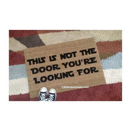 This Is Not The Door You're Looking For Star Wars Door Mat